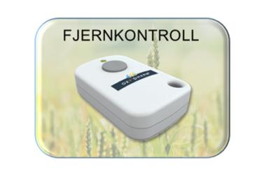 Desinfeksjonsrobot – Fjernkontroll