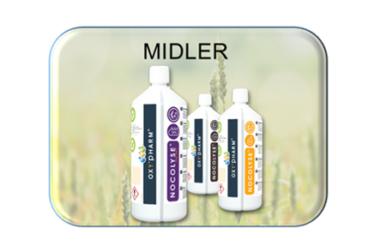 Desinfeksjonsrobot – Midler