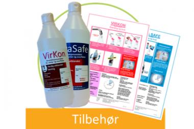 VirKon & PeraSafe – Tilbehør