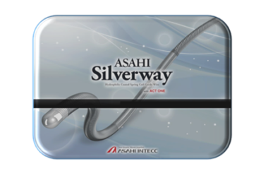 Silverway angiographic guide wire