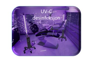 UV-C desinfeksjon for Tannklinikker